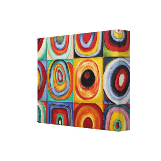 Kandinsky Abstract Art Canvas Print