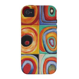 Kandinsky Abstract Art Vibe iPhone 4 Cases