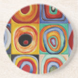 Kandinsky Abstract Art Coaster