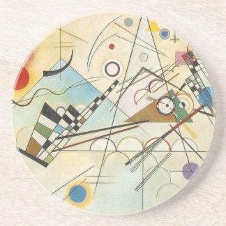 Kandinsky Abstract art Drink Coaster