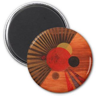 Kandinsky Abstract art Fridge Magnet