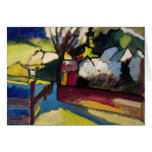 Kandinsky Abstract art Greeting Card
