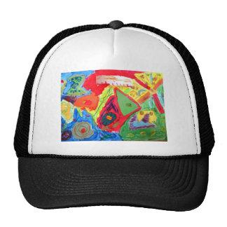 Kandinsky Abstract art Hat