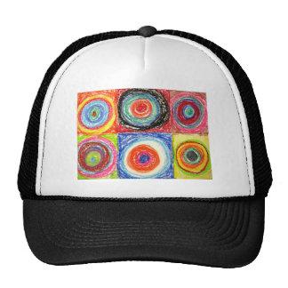 Kandinsky Abstract art Mesh Hat