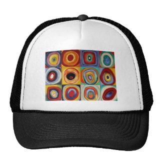 Kandinsky Abstract Art Hats
