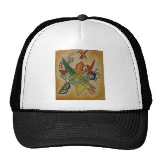 Kandinsky Abstract Art Mesh Hats