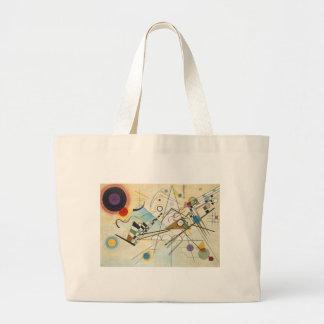 Kandinsky Abstract art Large Tote Bag