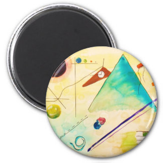 Kandinsky Abstract art 2 Inch Round Magnet
