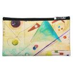 Kandinsky Abstract art Makeup Bag
