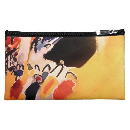 Kandinsky Abstract art Makeup Bags
