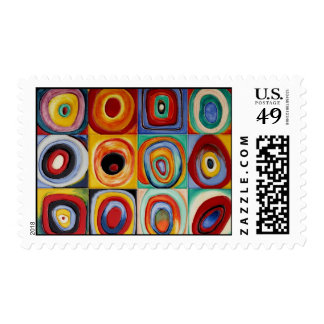 Kandinsky Abstract Art Postage