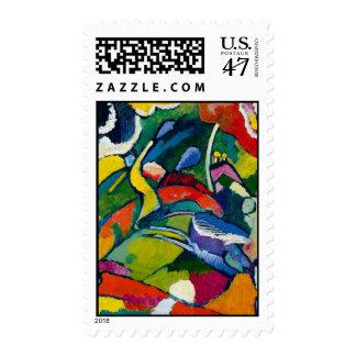Kandinsky Abstract art Postage Stamp