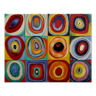 Kandinsky Abstract Art Poster