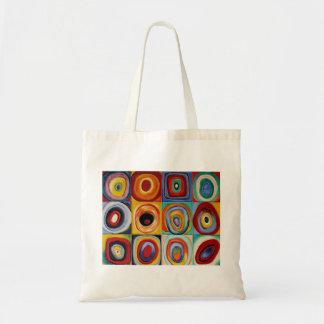 Kandinsky Abstract Art Tote Bag
