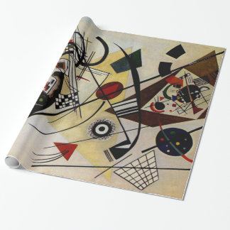 Kandinsky Abstract Art Transverse Line Wrapping Paper