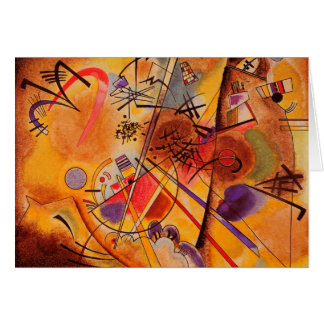 Kandinsky Abstract Artwork Card