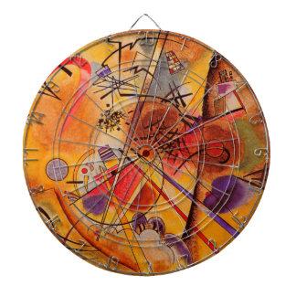 Kandinsky Abstract Artwork Dartboard