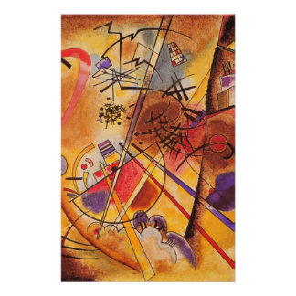 Kandinsky Abstract Artwork Stationery