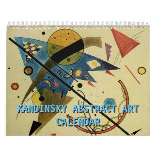 Kandinsky Abstract Artworks 2017 Calendar