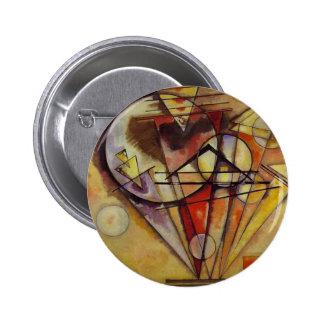 Kandinsky Abstract Circles Button