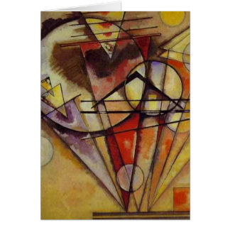 Kandinsky Abstract Circles Card