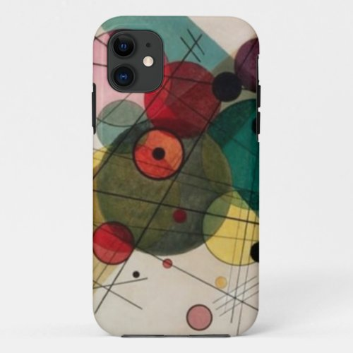 Kandinsky Abstract Circles iPhone 5/5S Case Phone Case