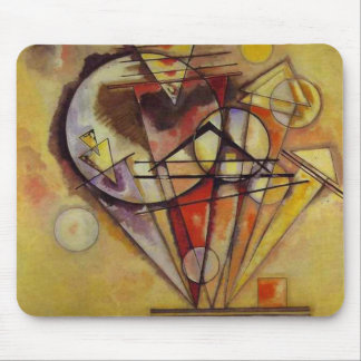 Kandinsky Abstract Circles Mouse Pad