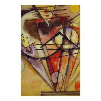 Kandinsky Abstract Circles Stationery