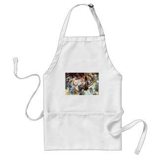 Kandinsky Abstract Composition VI Adult Apron