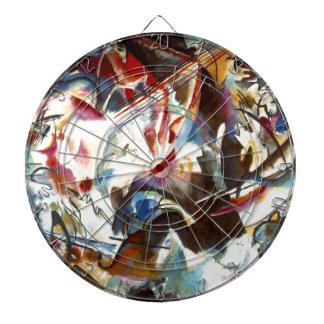 Kandinsky Abstract Composition VI Dartboard
