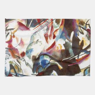 Kandinsky Abstract Composition VI Hand Towel