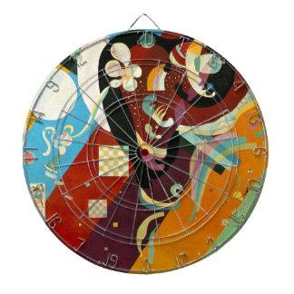 Kandinsky Abstract Compositon IX Dart Boards