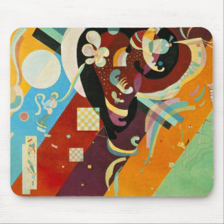 Kandinsky Abstract Compositon IX Mouse Pad