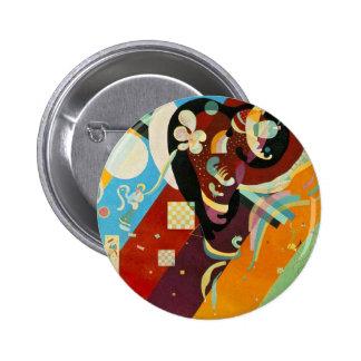 Kandinsky Abstract Compositon IX Pinback Button
