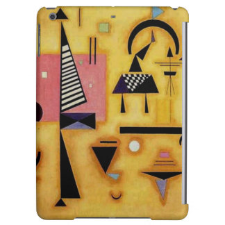 Kandinsky Abstract Decisive Pink Geometric Shapes Case For iPad Air