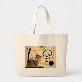 Kandinsky Abstract Large Tote Bag