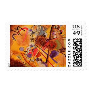 Kandinsky Abstract Paintin Postage Stamp