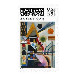 Kandinsky Abstract Painting Swinging Postage