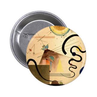 Kandinsky Abstract Pinback Button