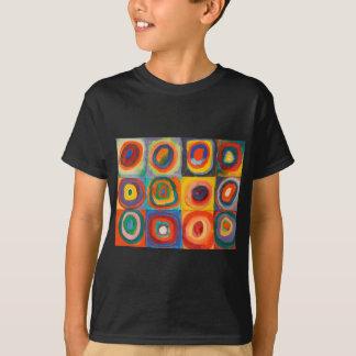 Kandinsky ajusta círculos concéntricos remeras
