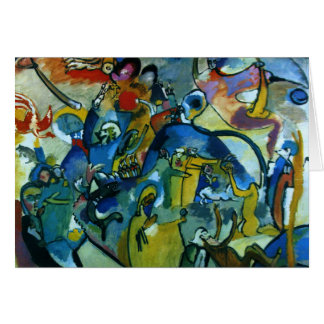 Kandinsky - All Saints Day II Card