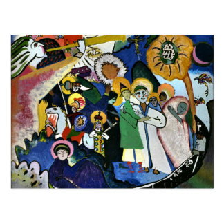 Kandinsky - All Saints I Postcard
