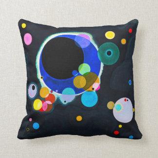 Kandinsky almohada de varios círculos