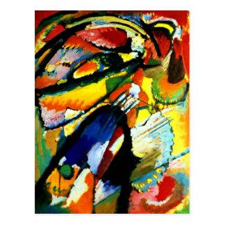 Kandinsky - An Angel of the Last Judgment Postcard