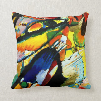 Kandinsky - An Angel of the Last Judgment Throw Pillow