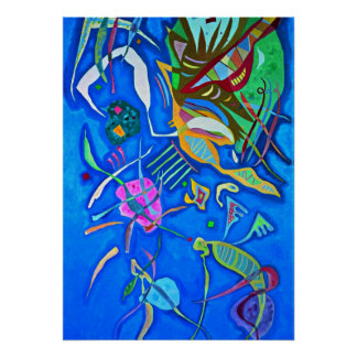Kandinsky artwork, Grouping Poster