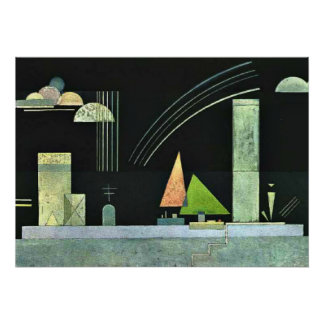 Kandinsky - At Rest Poster