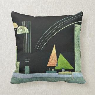 Kandinsky - At Rest Throw Pillow