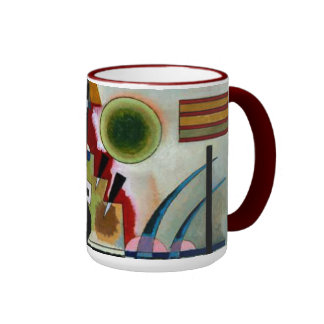 Kandinsky - balanceando taza a dos colores