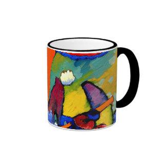 Kandinsky - Beach Scene Ringer Mug